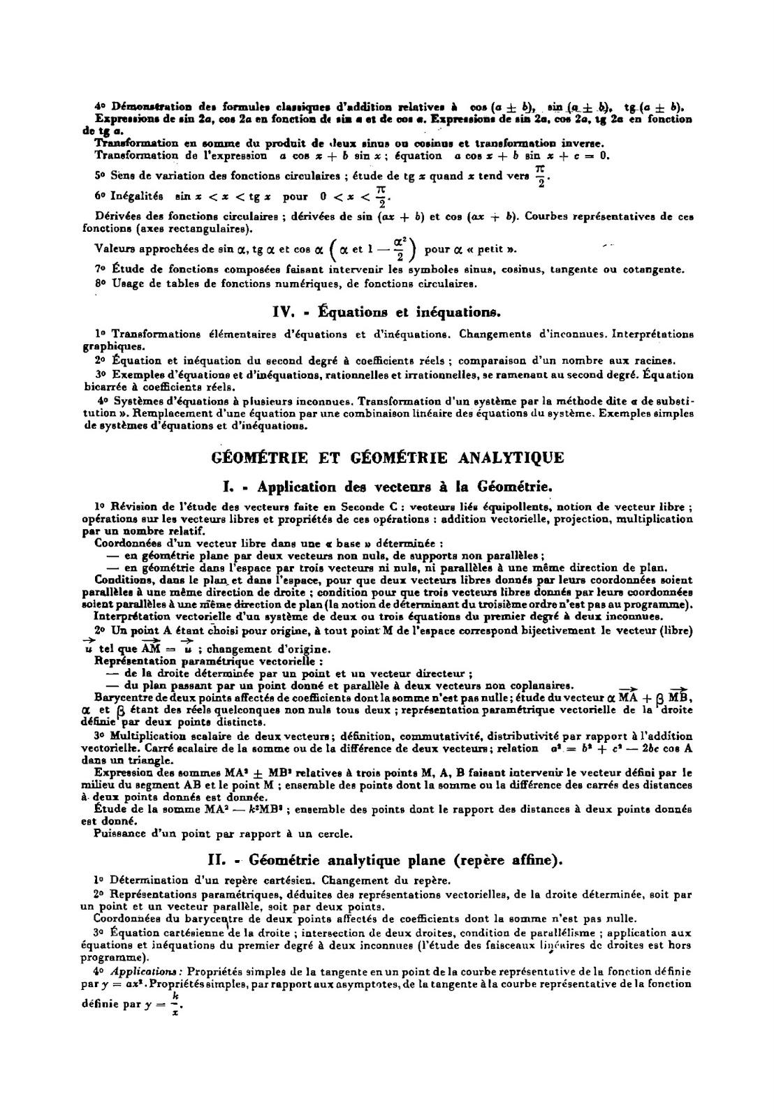 Les programmes de maths de 1882 à nos jours - Page 2 Programme%2Bde%2B1re%2BC%2B1966%2B02