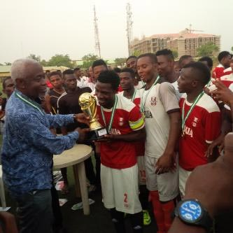 EFCC wins Challenge Cup, gets promoted to division 1 of Nigeria Professional Football League (NPFL)