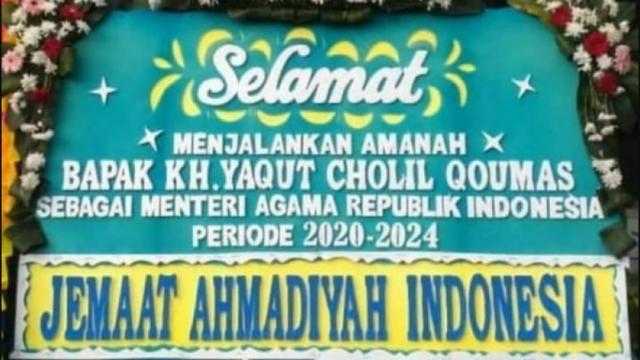 Jemaat Ahmadiyah: Terpilihnya Yaqut jadi Menteri Agama Merupakan Harapan Baru