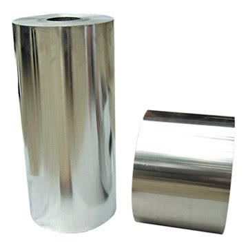 Bobinas foil aluminio brillante