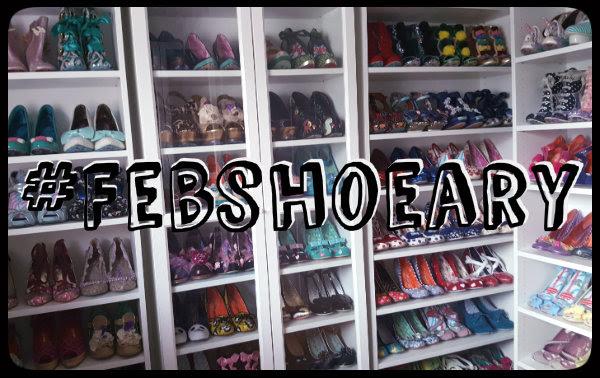 Febshoeary shoe banner