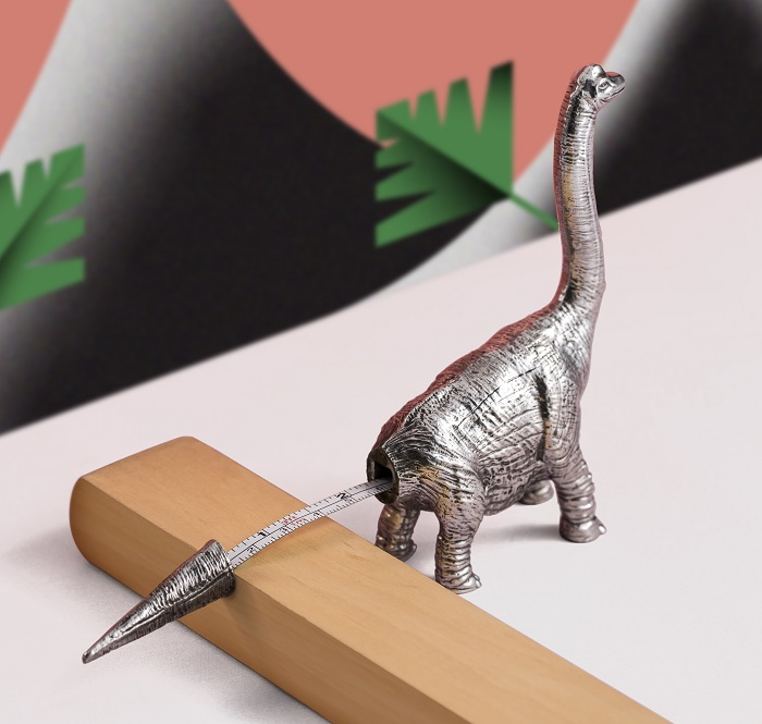 Dinosaurs Stationery From Royal Selangor Apatasaurus Measure Tape