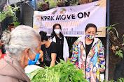 Ny Putri Koster Dukung Warung Kaget KPRK di Bangli