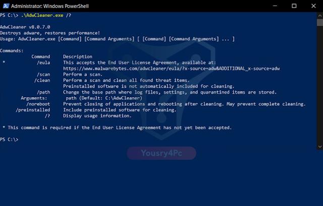 تحميل برنامج Malwarebytes AdwCleaner لإزالة الإعلانات و الأدوات الضارة - Yousry4pc