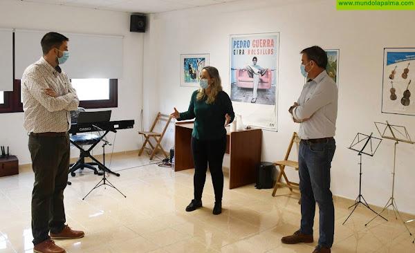 El Cabildo realiza mejoras en la sede de San Andrés y Sauces de la Escuela Insular de Música