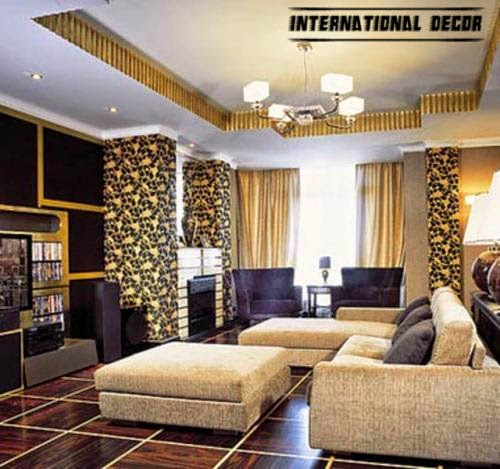 art deco living room designs and furniture international decoration. Black Bedroom Furniture Sets. Home Design Ideas