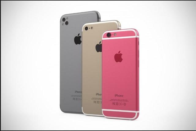 iPhone 7 and iPhone 7 Plus smartphones