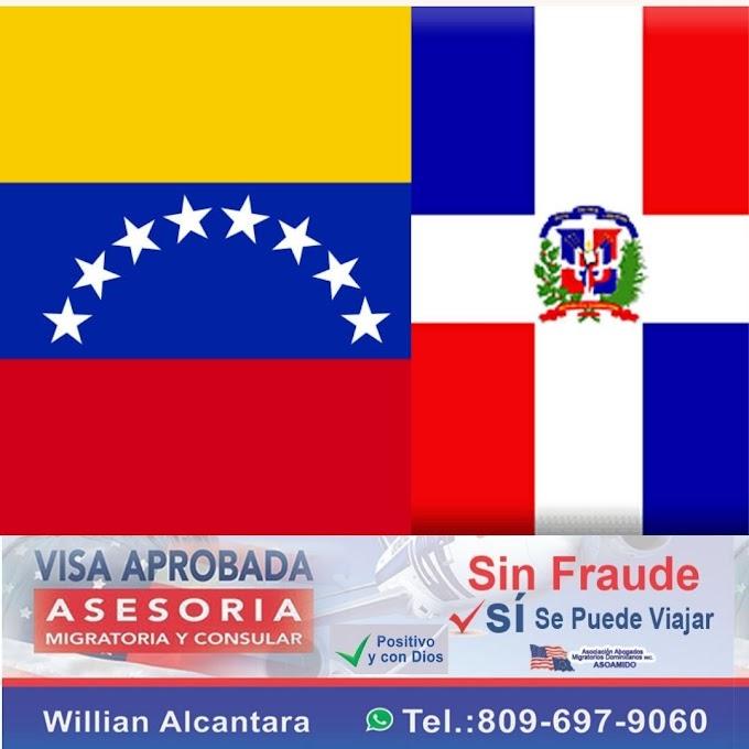 Resolución busca normalizar status migratorio de los venezolanos en República Dominicana