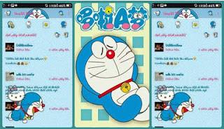 BBM MOD Doraemon Terbaru Apk
