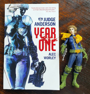 Judge Anderson year one by Alec Worley from Abaddon Books