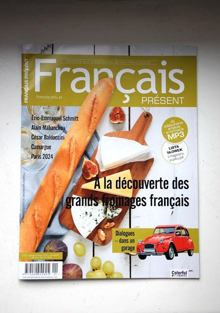 """Français Présent 43/2018""  - okładka czasopisma - Francuski przy kawie"