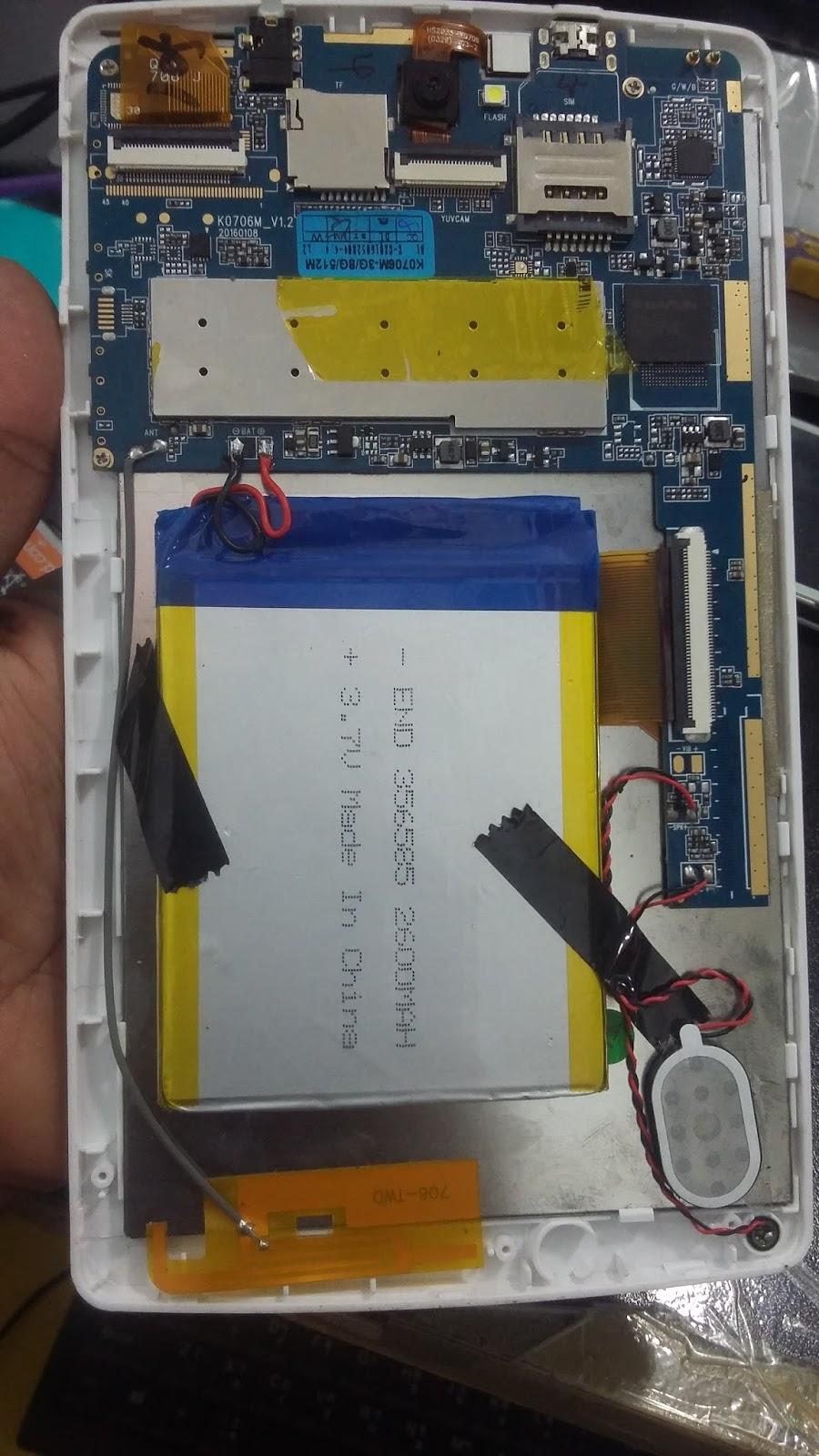 Microdigit 7'dualcore Wifi Tab M7516 4 4 2 Mt6572 Death