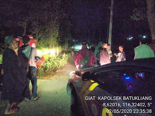Polsek Batukliang Lombok Tengah Razia Balap Liar