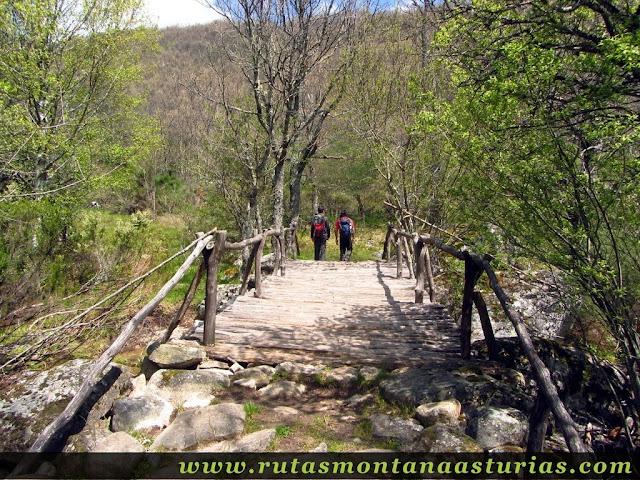 Puente sobre rio de las Truchas