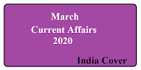 March Current Affairs 2020 India cover