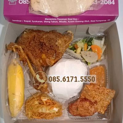 Free Delivery Pesan Catering Nasi Box di Jogja