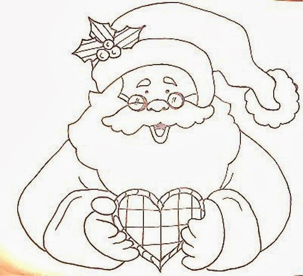 Riscos E Rabiscos: Olha O Papai Noel