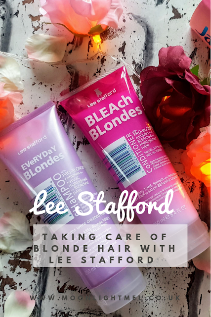 Taking care of blonde hair with Lee Stafford