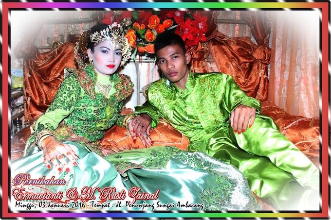 Foto Pernikahan di Sei. Ambacang Desa Seberang Pebenaan