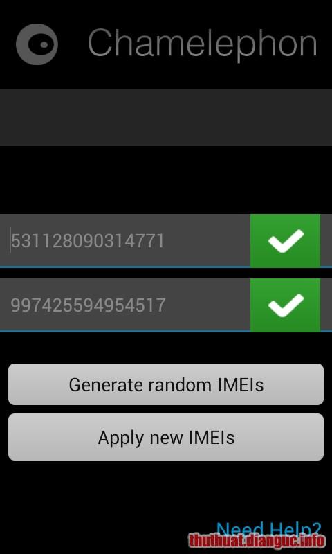 Fix imei cho các máy chạy chip Mediatek