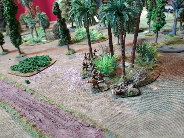 Another Japanese sections moves through the jungle