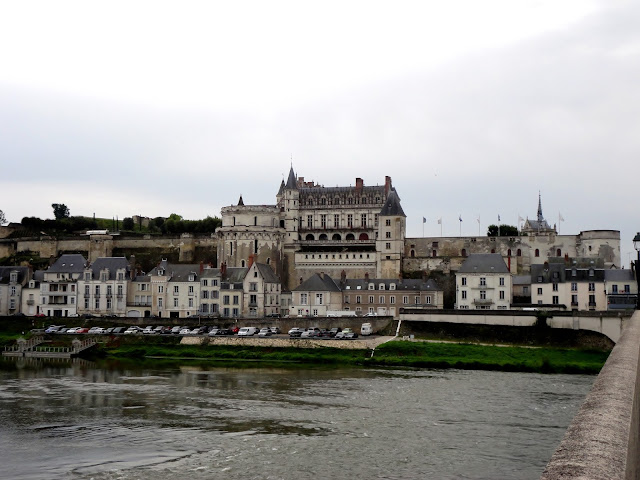 Amboise town & château, Loire Valley, France