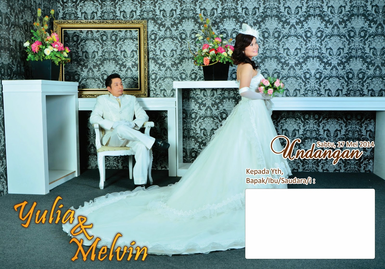 Yulia & Melvin Wedding Day
