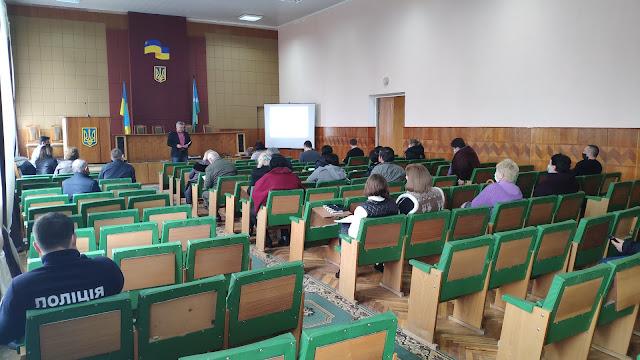 Презентація проєкту у Новотроїцькій ТГ