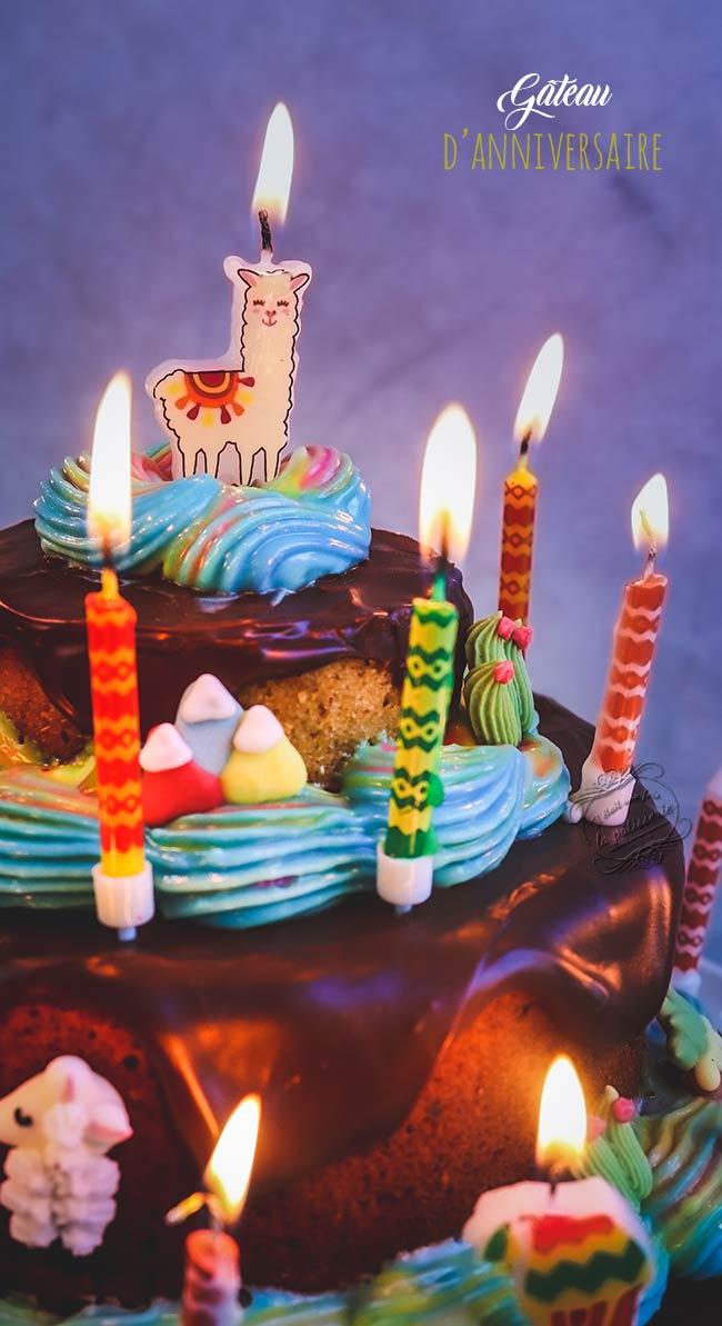 gateau anniversaire recette