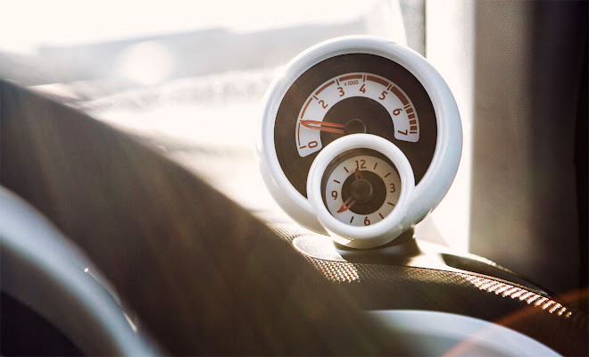 Smart ForTwo Mk3 rev counter pod