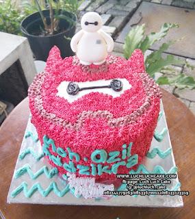 Kue Tart Ulang Tahun Baymax Big Hero 5