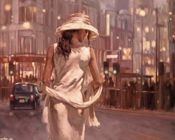 Энергичный и творческий художник. Mark Spain