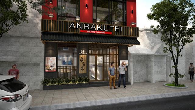Mặt tiền nhà hàng BBQ ANRAKUTEI