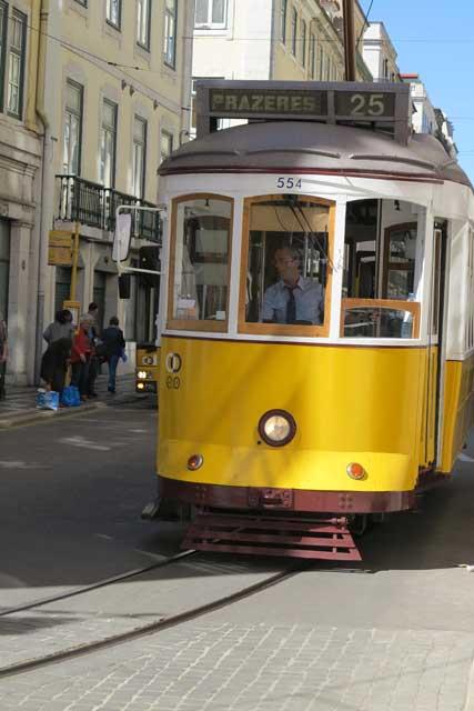 Lisbon Tram 25
