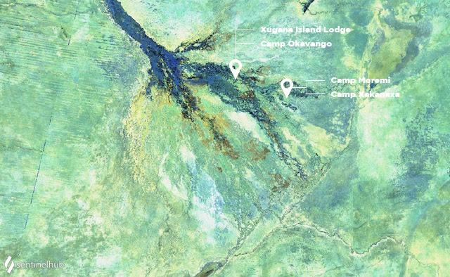 Okavango Delta in July 2019