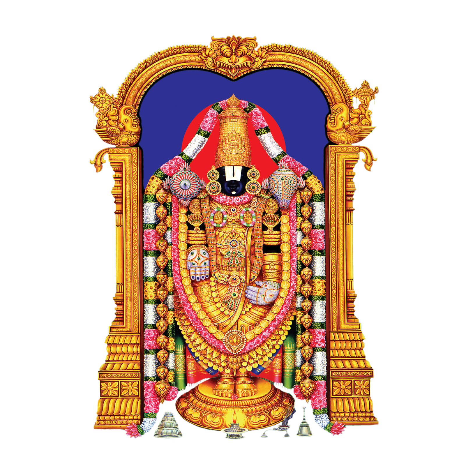 famous lord tirupati balaji png wallpapers and photos free