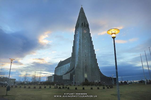 Hallgrímskirkja Church, Iceland, Reykjavik