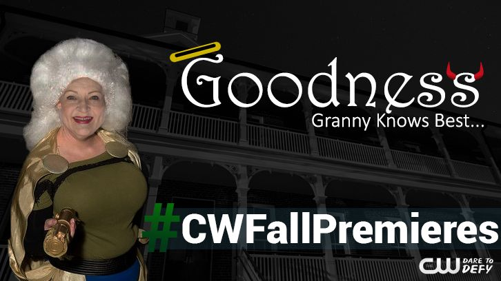 Goodness - CW Developing Supervillain Show Starring Betty White + First Look Key Art