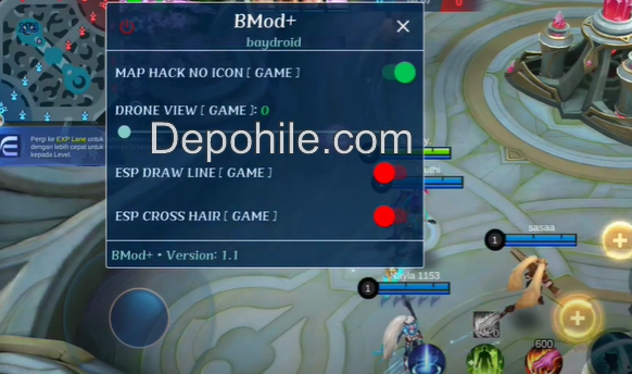 Mobile Legends Bay Mod ESP, Map Hilesi Apk Temmuz 2021