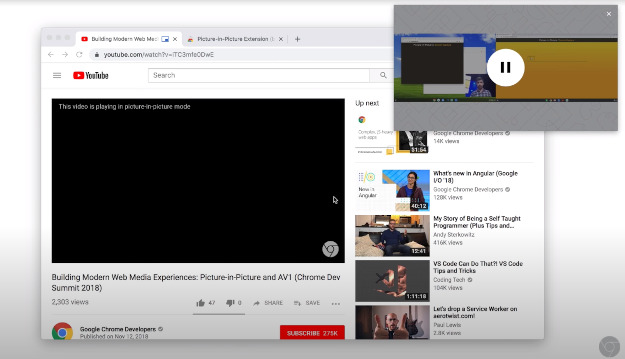 Picture-in-Picture - Παίζουμε βίντεο του Youtube σε ξεχωριστό παράθυρο του υπολογιστή