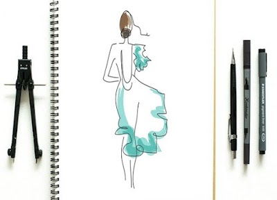 Cómo dibujar y bocetar figurines de moda