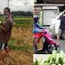 Isang matulunging Kapitan ang namimigay ng Upo sa lahat ng Dumadaan