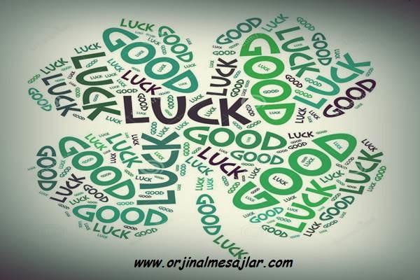 İyi Şanslar Mesajları