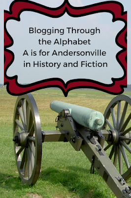photograph of cannon; Blogging Through the Alphabet: A is for Andersonville in History and Fiction