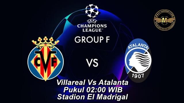 Prediksi Villarreal Vs Atalanta