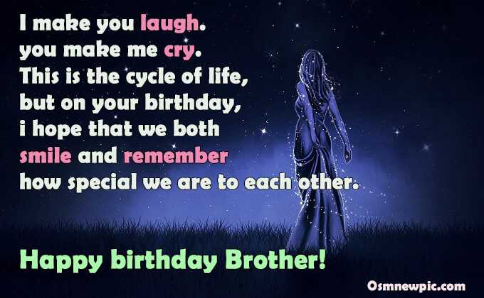 Heart touching happy birthday wishes for Elder brother