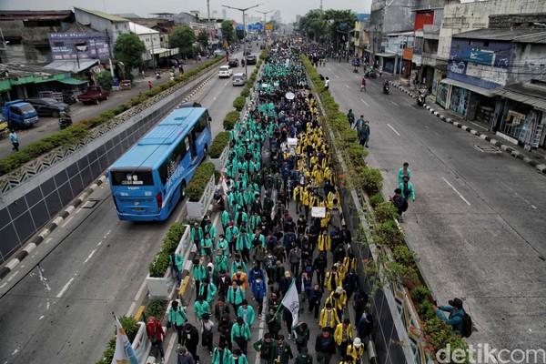 Demonstran Menuju Istana, BEM SI: Waspada Impostor