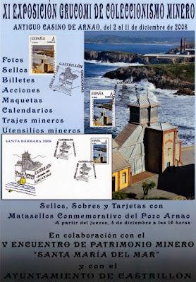 cartel, exposición, minero, colecionismo