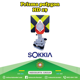 Jual Prisma Polygon Sokkia HD 19 di Kendari