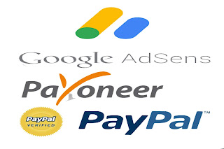 احصل على اعلانات ادسنس والدفع عبر بنك PayPal و Payoneer مع الاتباث